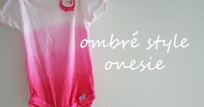 Ombre Style Bodysuit