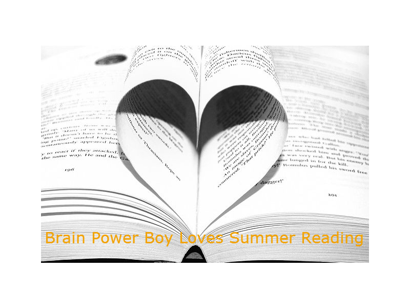 Brain Power Boy Loves Summer Reading