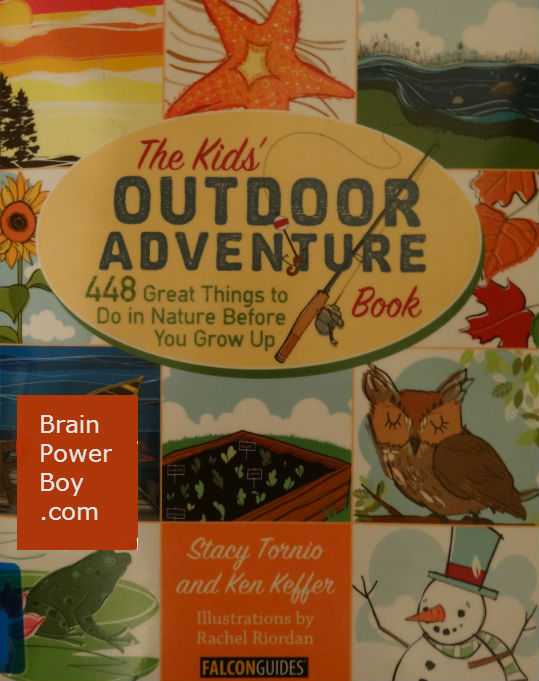 The Kids' Outdoor Adventure Book Review | BrainPowerBoy