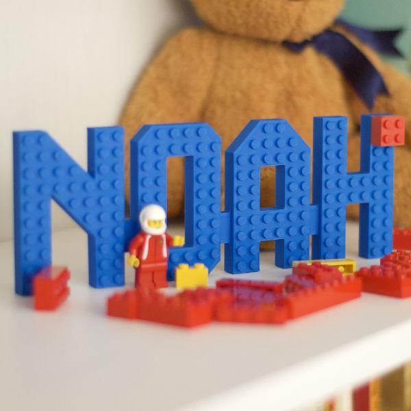 3D LEGO Brick Name