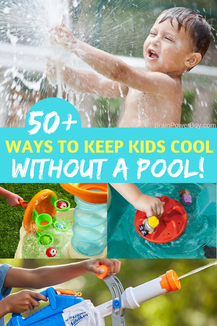 If your kids don't want to go outside because it is too hot. Or, they keep begging for a pool. We have solutions!! We found the very best backyard water toys for keeping kids cool all summer long no matter how hot it gets. BONUS: They are off screens, having fun, learning and moving around!!