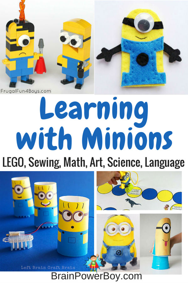 Do your kids love Minions? Try these 9 super fun minions activities that feature the little yellow fellows. Lots of Despicable Me activities your kids will have a lot of fun doing.