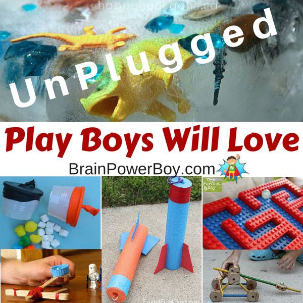 Activities For Boys 50 Awesome Ideas For Unplugged Play