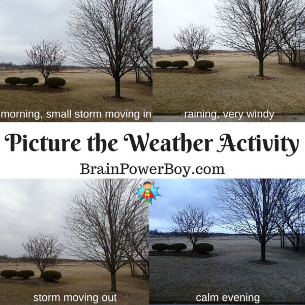 Quick and easy weather activity to do. Includes free printable weather chart and weather book list.