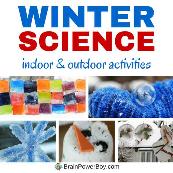 Are you looking for fun and exciting winter science ideas to do with your kids? Try these indoor and outdoor science activities and they will be thrilled.