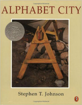 alphabet-city cityscape and construction abc book