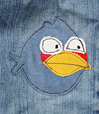 Angry Birds Pants Patch