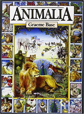 Animalia Alphabet book for boys