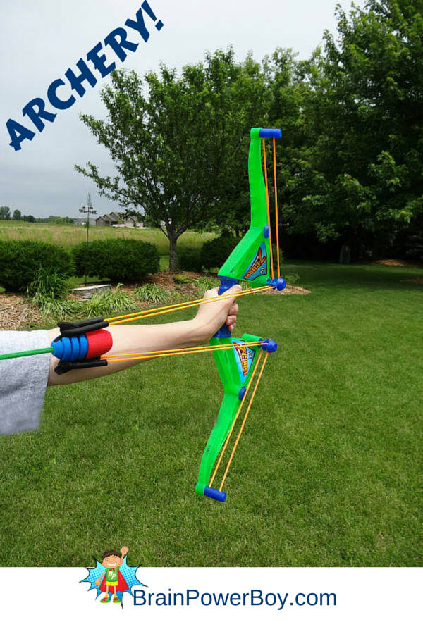 Practicing archery with the Zing Air Z-Curve Bow