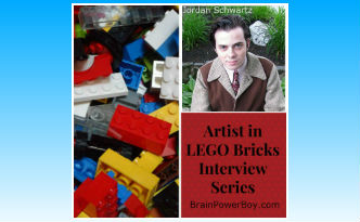 Artist in LEGO Bricks Interview Series: Jordan Schwartz