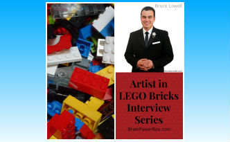 Artist in LEGO Bricks Interview Series:  Bruce Lowell