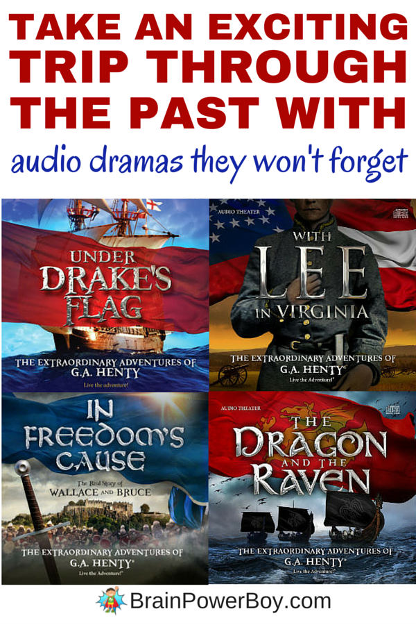 Take an Exciting Trip Through The Past With Audio Adventures