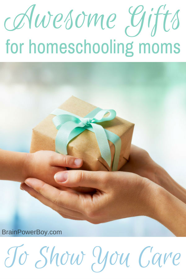Show you care with these wonderful gifts for homeschooling moms. She will thank you again and again!