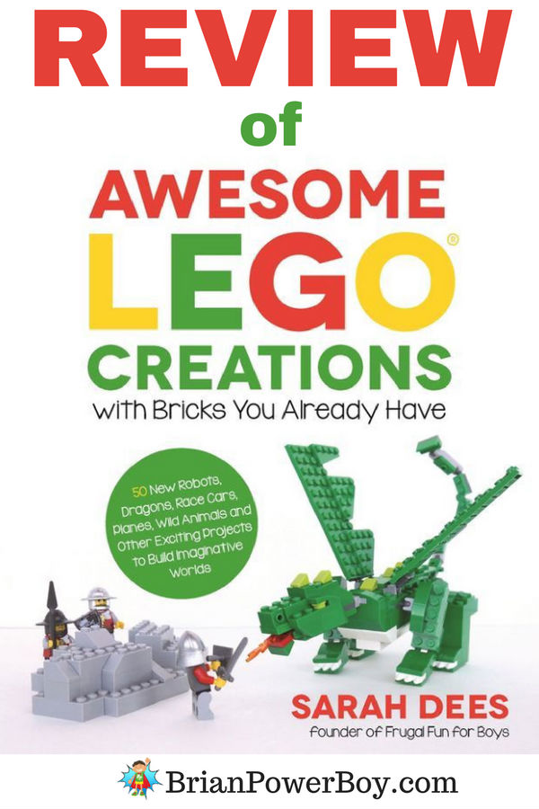 Awesome LEGO Creations with Bricks You Already Have Review! Can you really make these designs with the bricks you have? Are the designs easy to make from the directions? Will this be a good addition to your LEGO library? Click to get the answers and read the full review.
