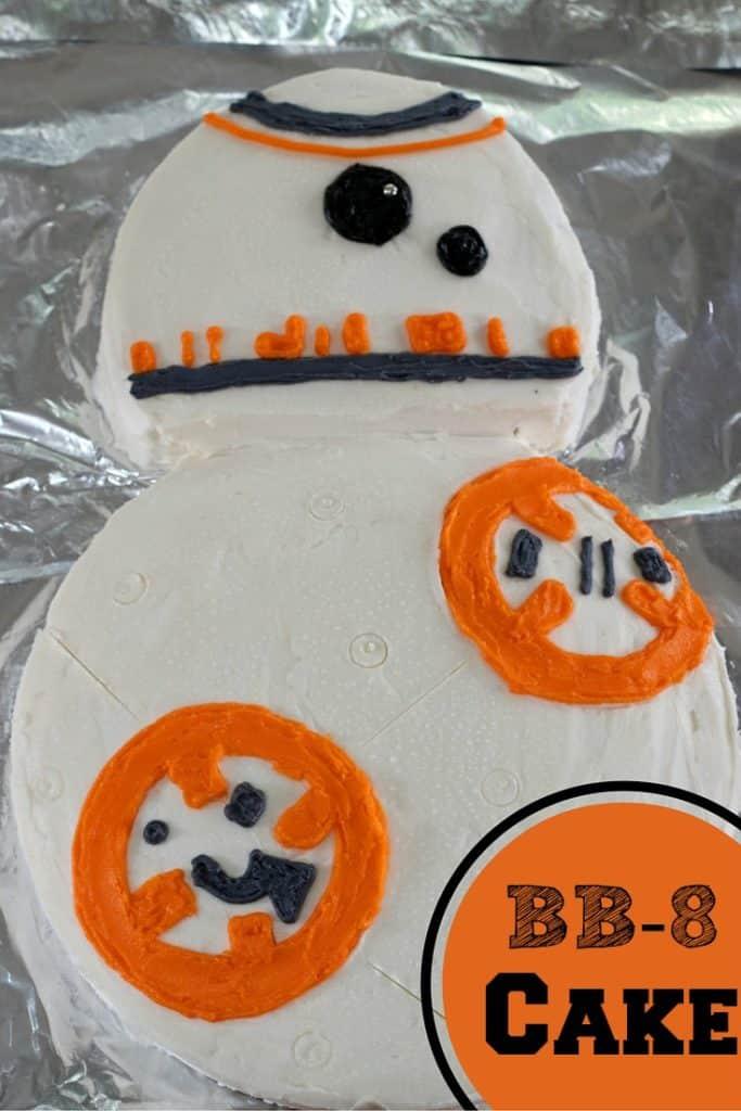 DIY BB-8 Cake