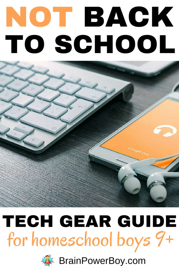 Back to School Guide for Homeschool Boys
