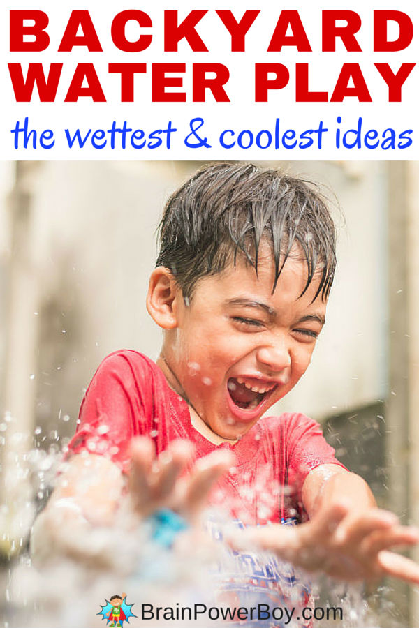 THE wettest and coolest backyard water play ideas ever! You know those hot days when you just want something fun to do with the kids? Need something that will cool them down and let them have fun in the summer sun? You will have a blast with your kids this summer by doing a few of these. Click the image to see them all.
