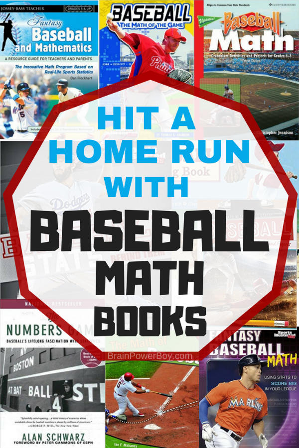 What an awesome way to learn math! Grab some of these baseball math books for you baseball fan! Tap to see the whole list.