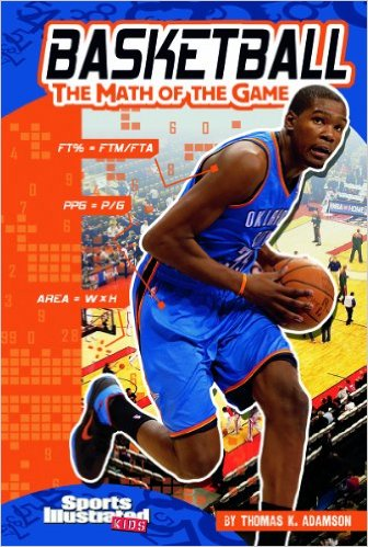 Basketball Math Book on adding worksheets for kindergarten
