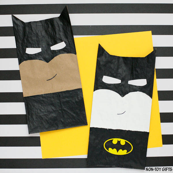 Batman Made Out of Paper Bag