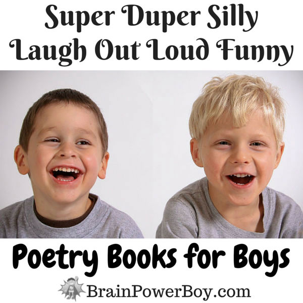 Get them laughing while they are learning with 11 awesome (and funny!) Poetry Books boys will go for.
