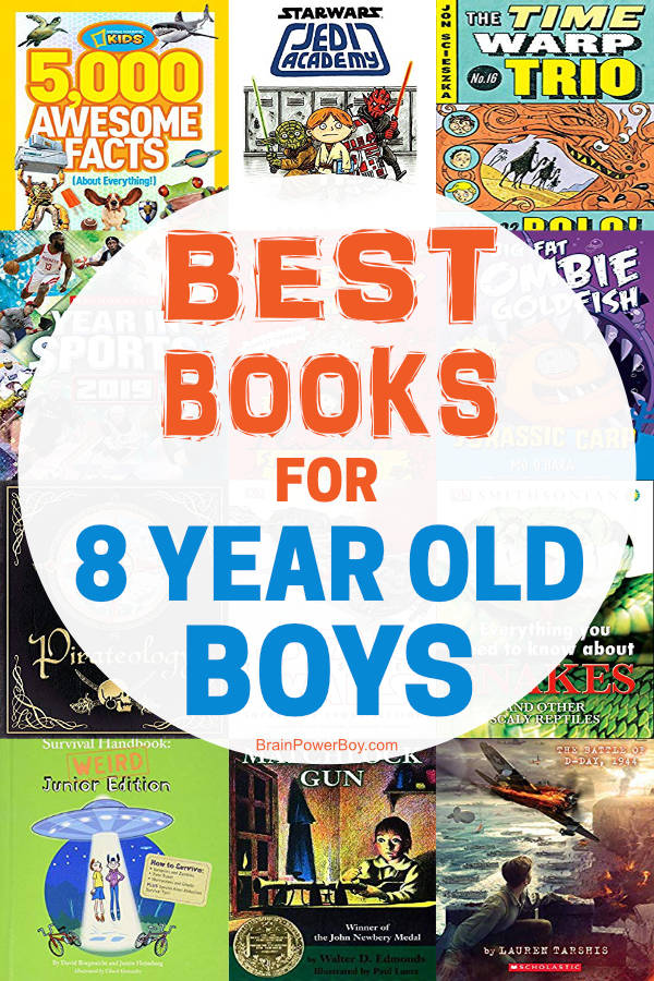 Best Books for 8 Year Old Boys: Titles That Are Total Winners!