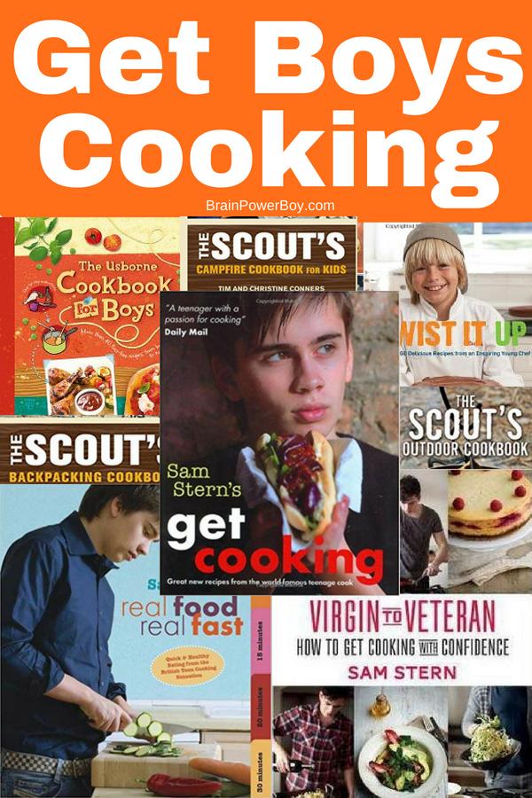 Cookbooks for Boys: A Dozen Awesome Books