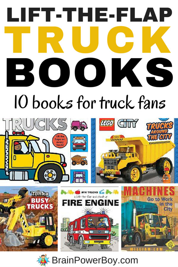 Lift-the-Flap Truck Books