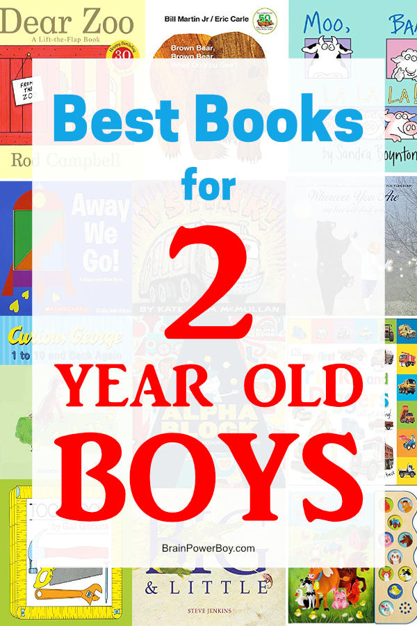 Need books for boys age 2? We found fiction, non-fiction and concept books they will absolutely love. See this book list featuring the best books for 2 year old boys now.