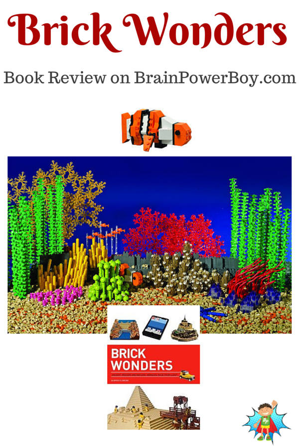 New best books for boys review on Brick Wonders | Brain Power Boy