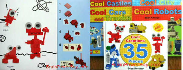 The Cool LEGO series of books feature great instructions and easy to build LEGO creations--super neat!