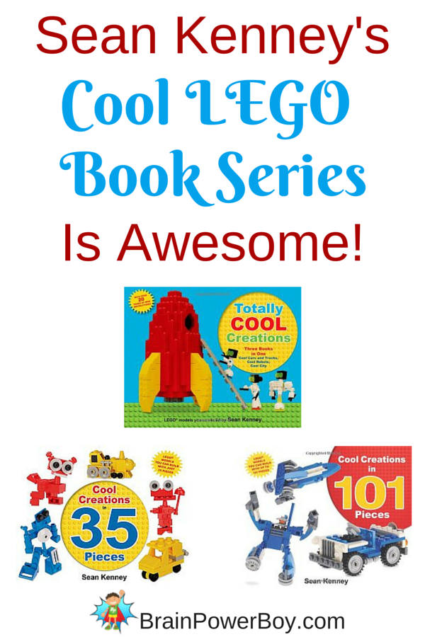 If you have a LEGO lover in your family, you need to check out Sean Kenney's Cool LEGO series of books.