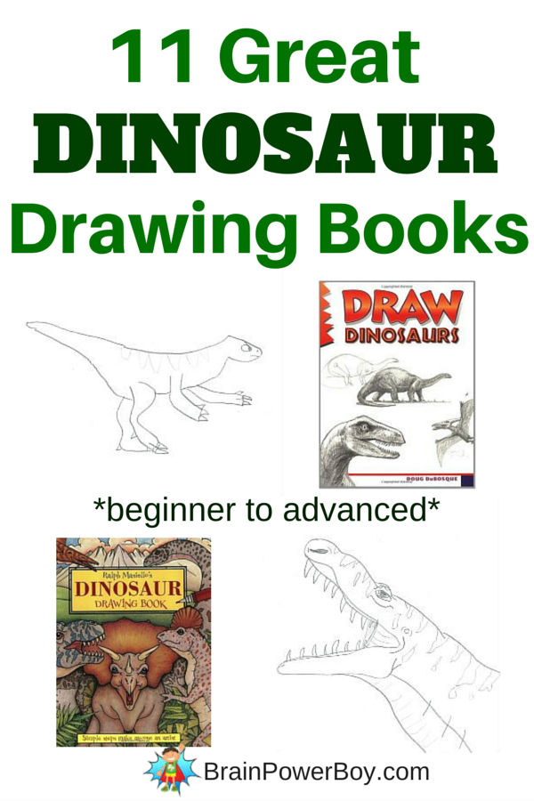 The very best dinosaur drawing books. 11 different books sure to please your dinosaur artist.