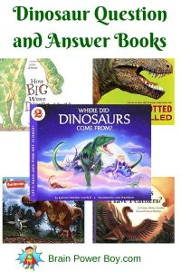 Best Books for Boys Dinosaur Question and Answer Books