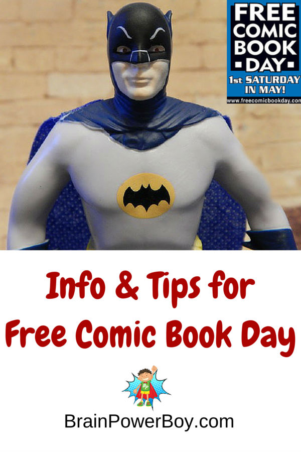 What is the best time to arrive? How many comics can you get? Where can I find the shops? Tips and information that will help you navigate free comic book day and have a great time while doing so.