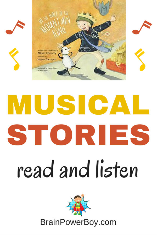Musical stories are a wonderful way to share a book and a new music style with your kids. Engaging stories that they will really enjoy. BONUS: Free ways to make your own music online.