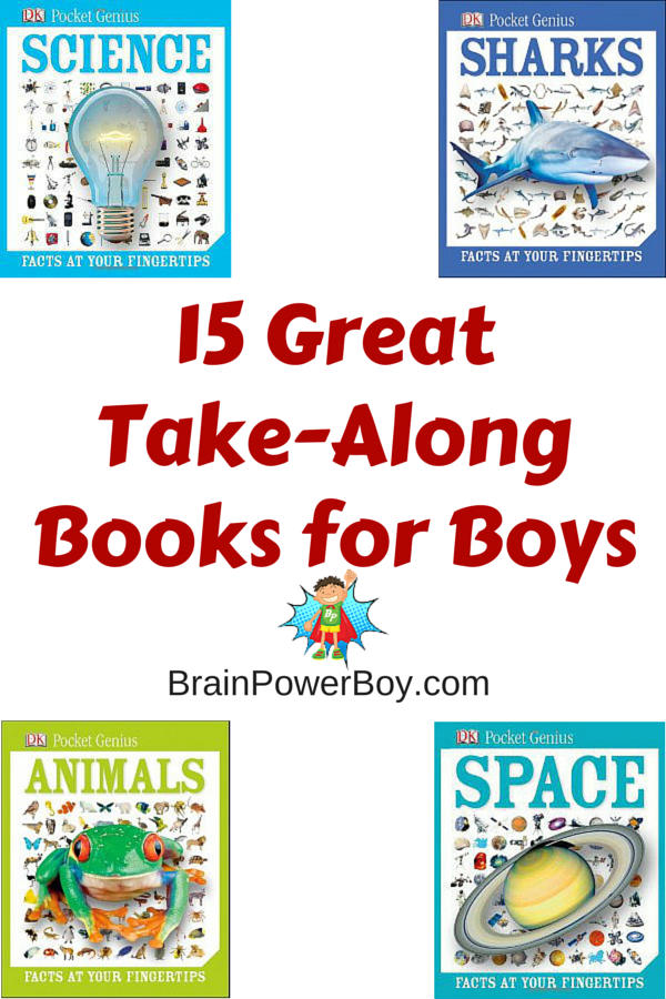 Super small-form non-fiction books to grab to take on appointments, car trips, nature hikes, shopping trips and more. Highly engaging.