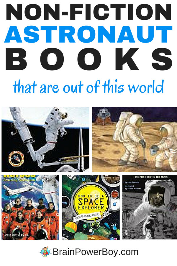 Oh, to be an astronaut! If you have a boy who dreams of being an astronaut you can share these 9 wonderful (and totally out of this world) books with him to support his interest.