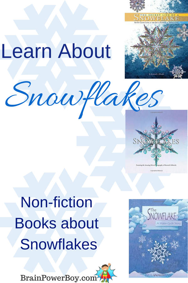 Non fiction books about snowflakes