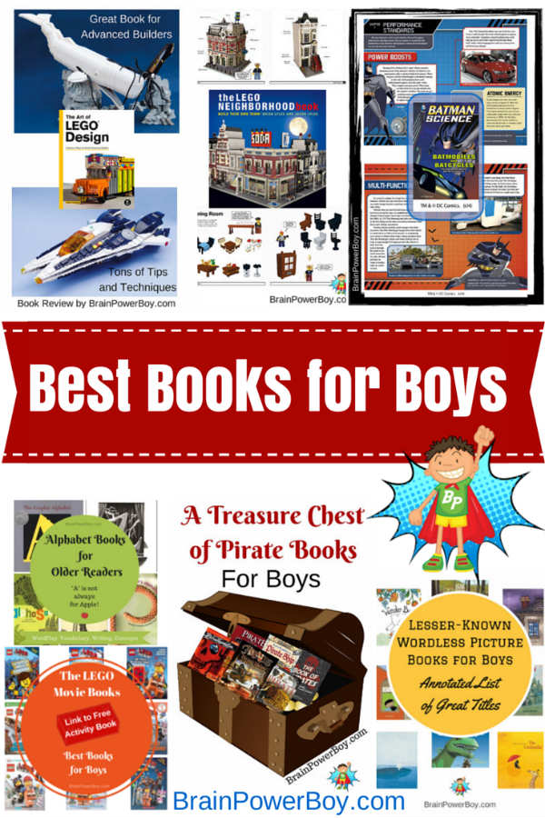 Growing list of The Best Books for Boys. Get boys reading with engaging and high quality books.