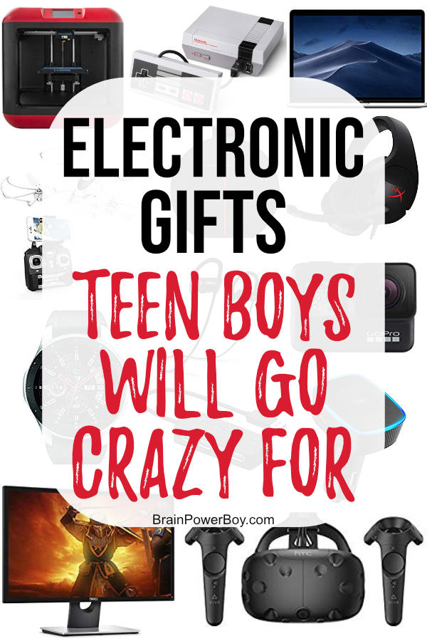 Wondering what gift to buy for a teen boy? You have to see these Electronic Gifts Teen Boys Will Go Crazy For! This is the only list you need. Tap or click to get incredible ideas.