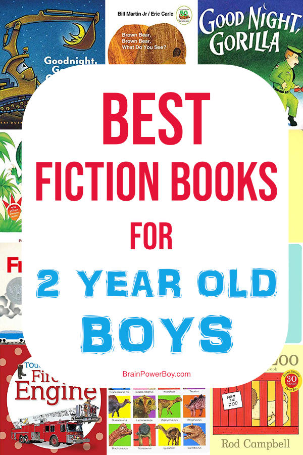 Wonderful fiction books for 2 year old boys. Do not miss these!