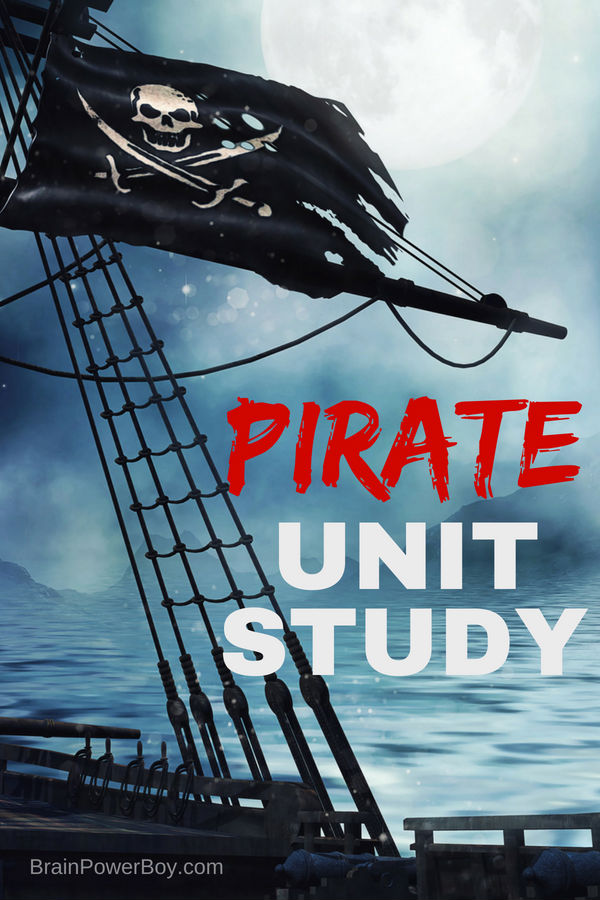 Best Pirate Unit Study Ever! Your kids are going to love this and they will BEG to learn more and more about pirates.
