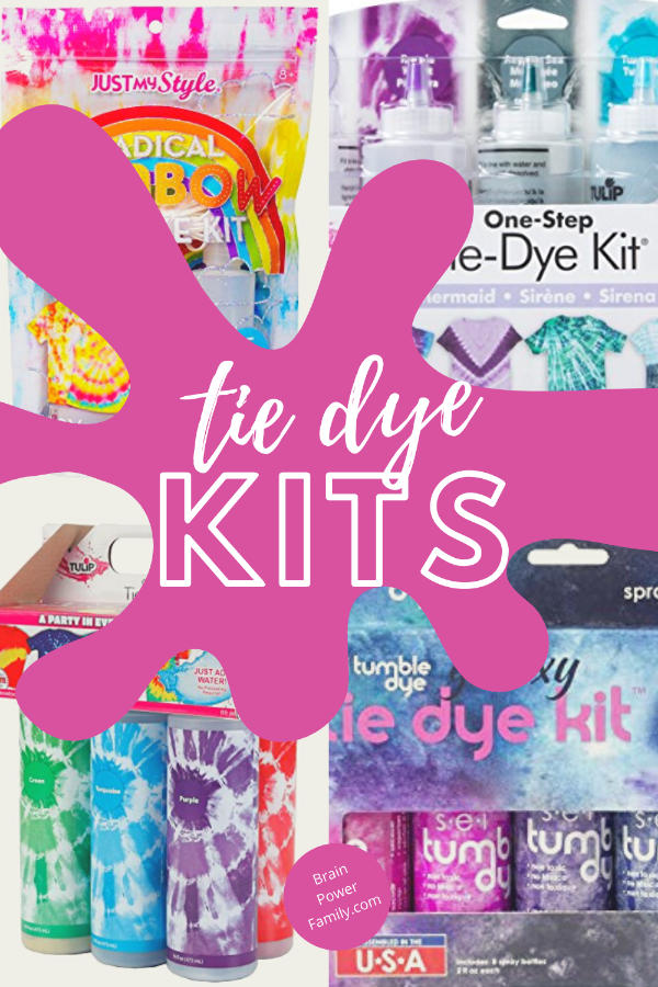 Tie Dye Kits Selection