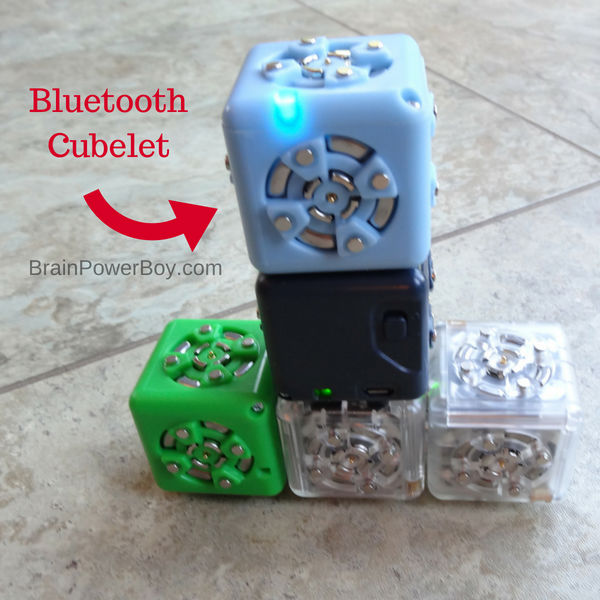 The Bluetooth Cubelet lets you control your Cubelets with an app and if that wasn't cool enough, it also lets you program your robot blocks. It is one of the best ways I know to learn coding. (with ad Home Science Tools)