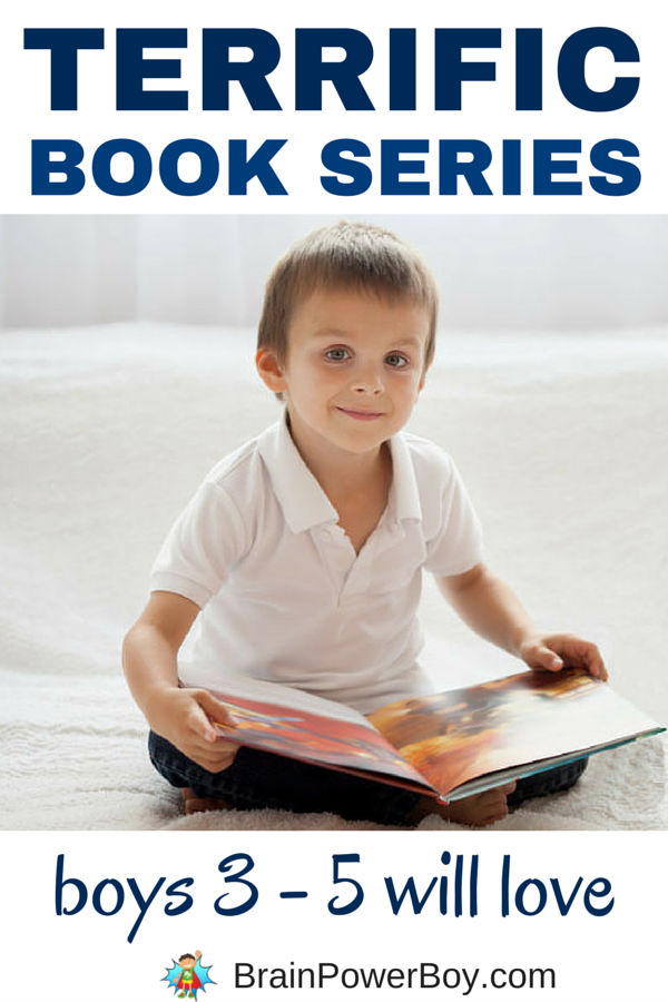 Introducing book series to boys will help them with their reading. Try this list of terrific book series for 3 - 5 year old boys - they are going to love them!