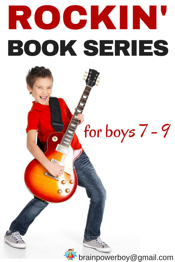 Book Series for Boys 7 - 9