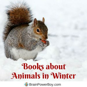 Wonderful books about animals in winter plus ideas for hands-on play and learning.