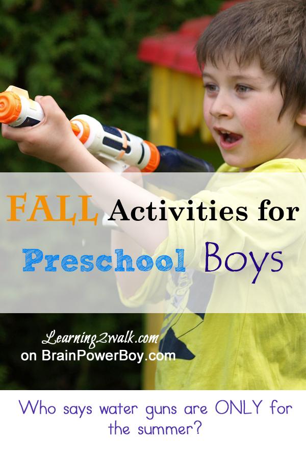 Boy Fall Activities For Preschoolers