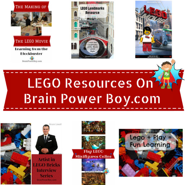 LEGO Resources for Boys. Fun Activities, Books, Interviews with LEGO Builders, The LEGO Movie and More.